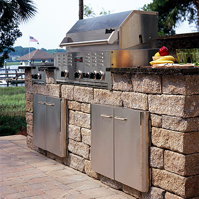 Outdoor Kitchens & BBQ, Little Compton, Rhode Island, RI